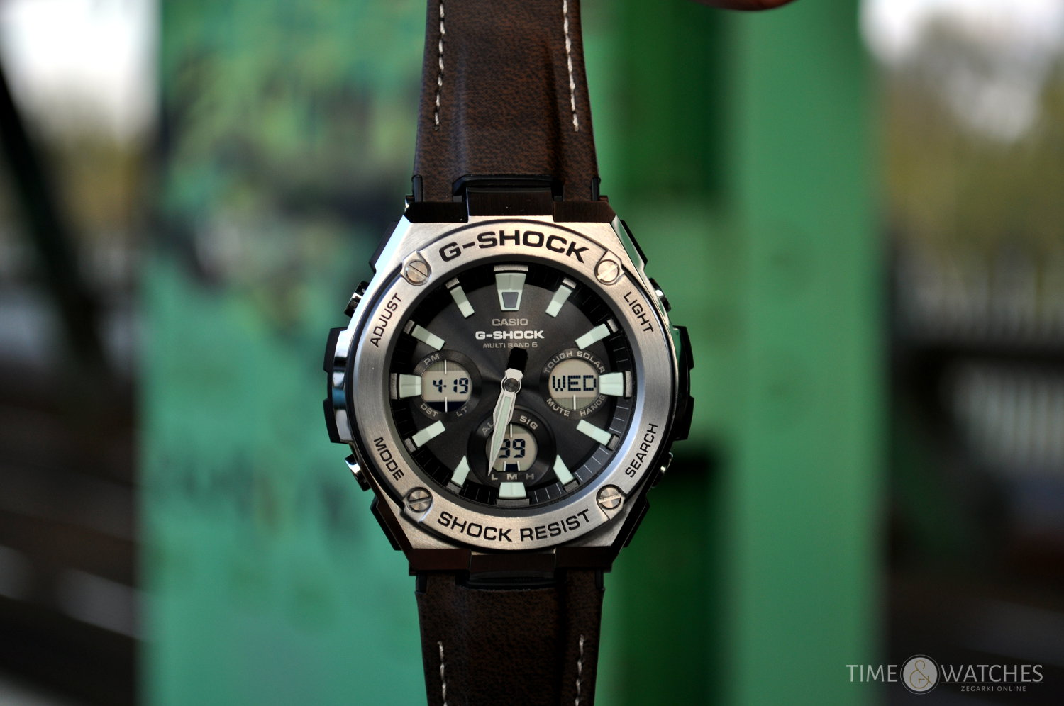 CASIO G-SHOCK TOUGH LEATHER - NOWA SKÓRA G-SHOCK'ÓW