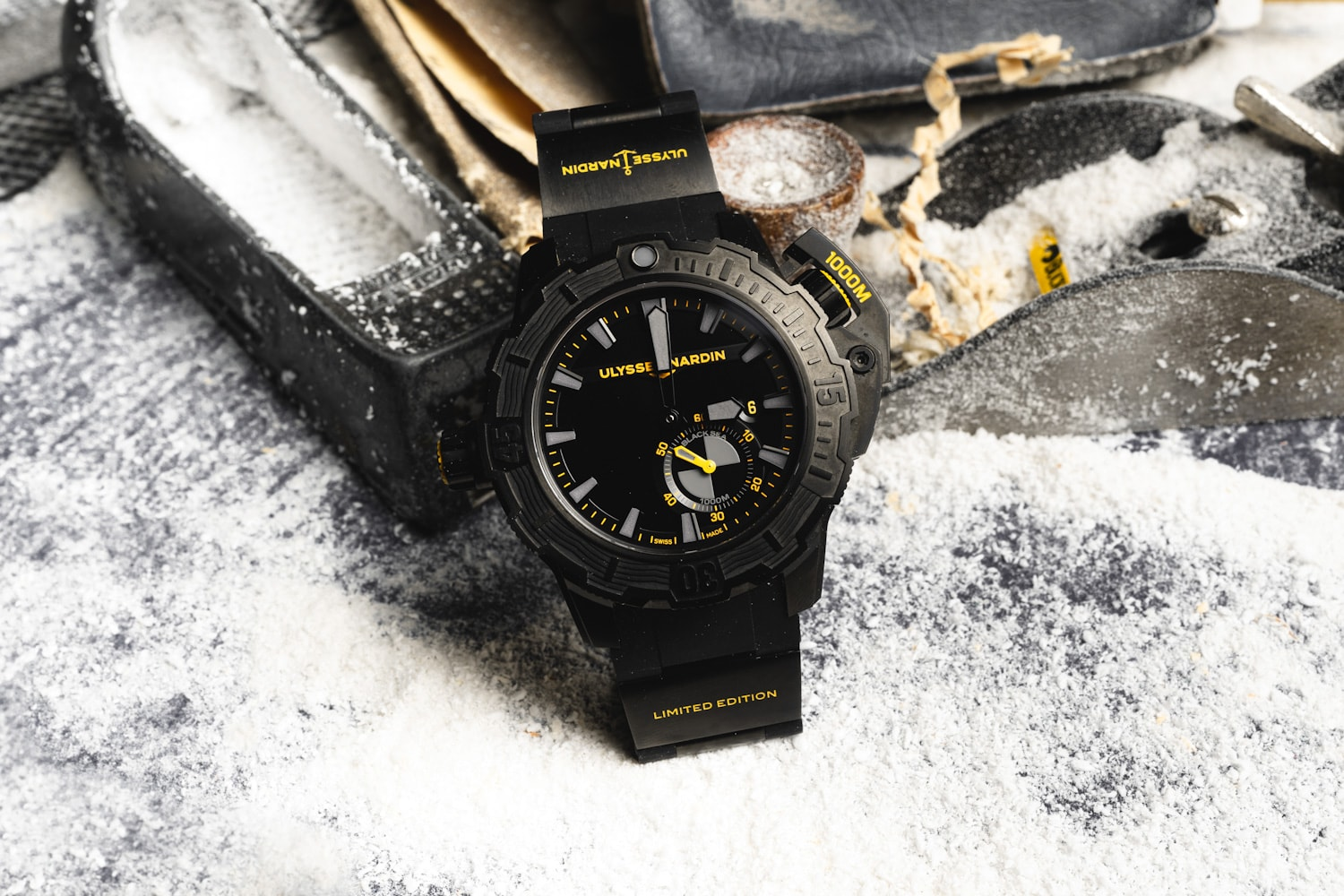 Timeandwatches.pl Ulysse Nardin Diver Deep Dive One More Wave