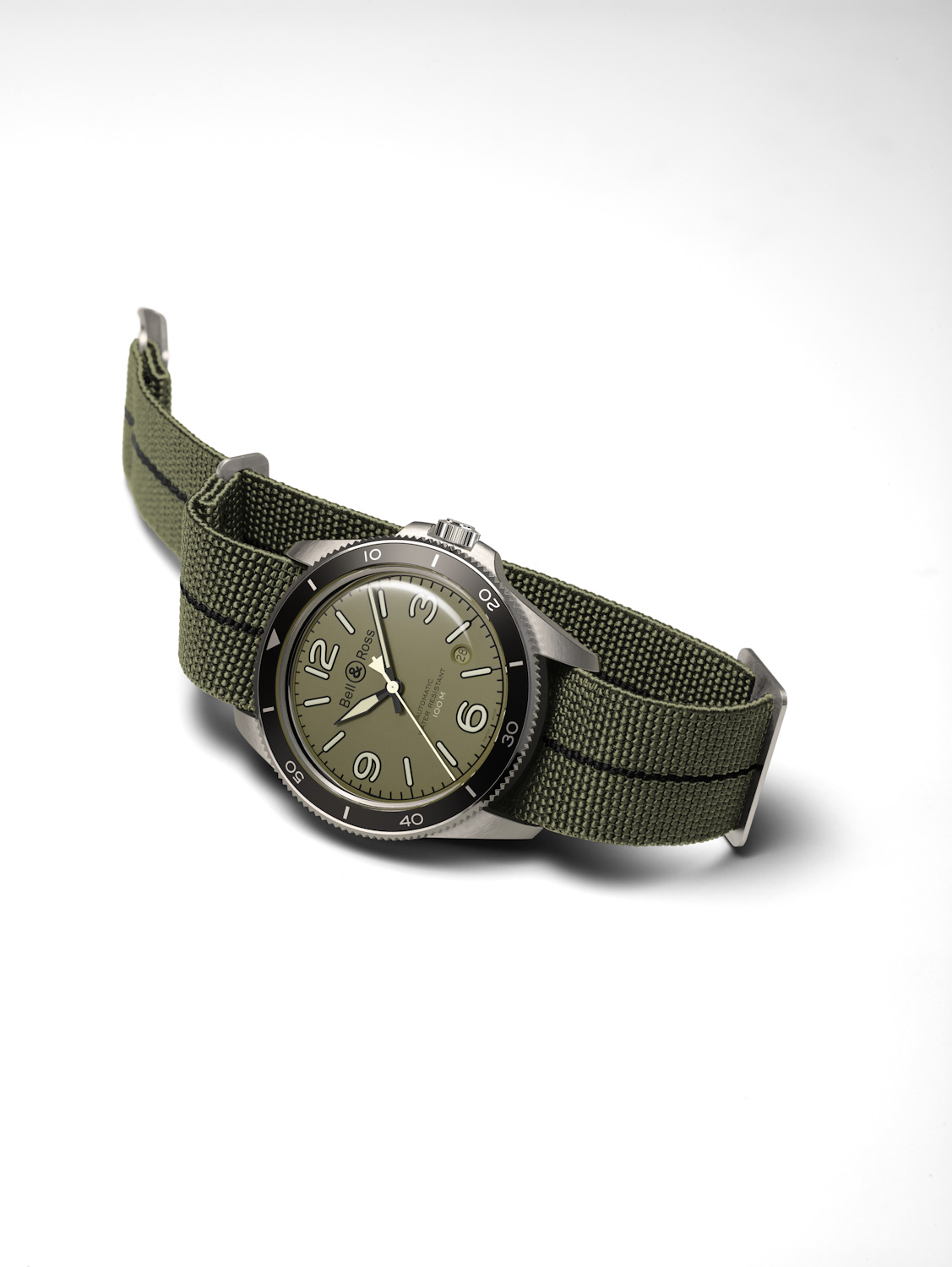 timeandwatches.pl bell ross military military green