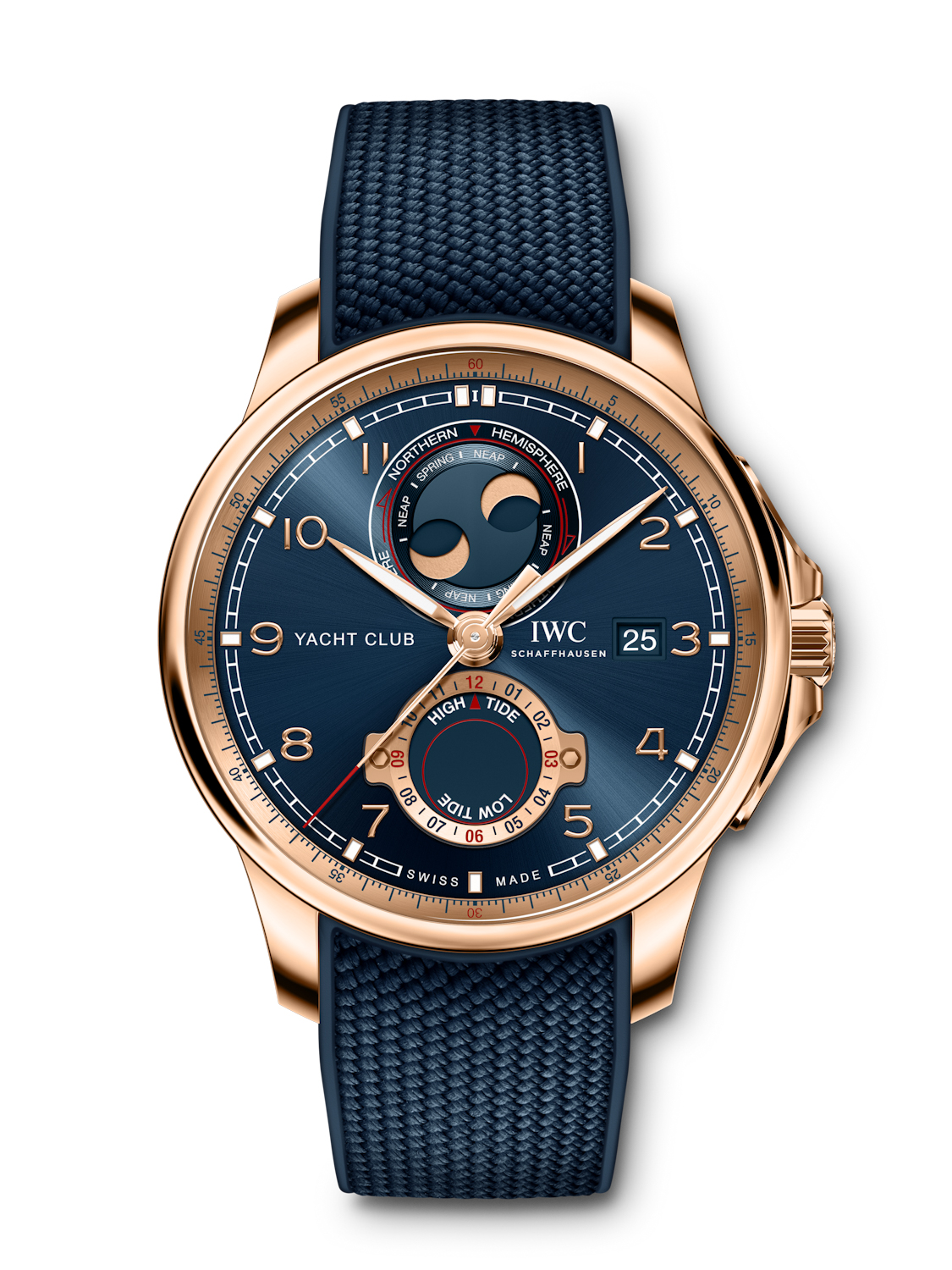 iwc Portugieser yacht club moon & tide timeandwatches.pl