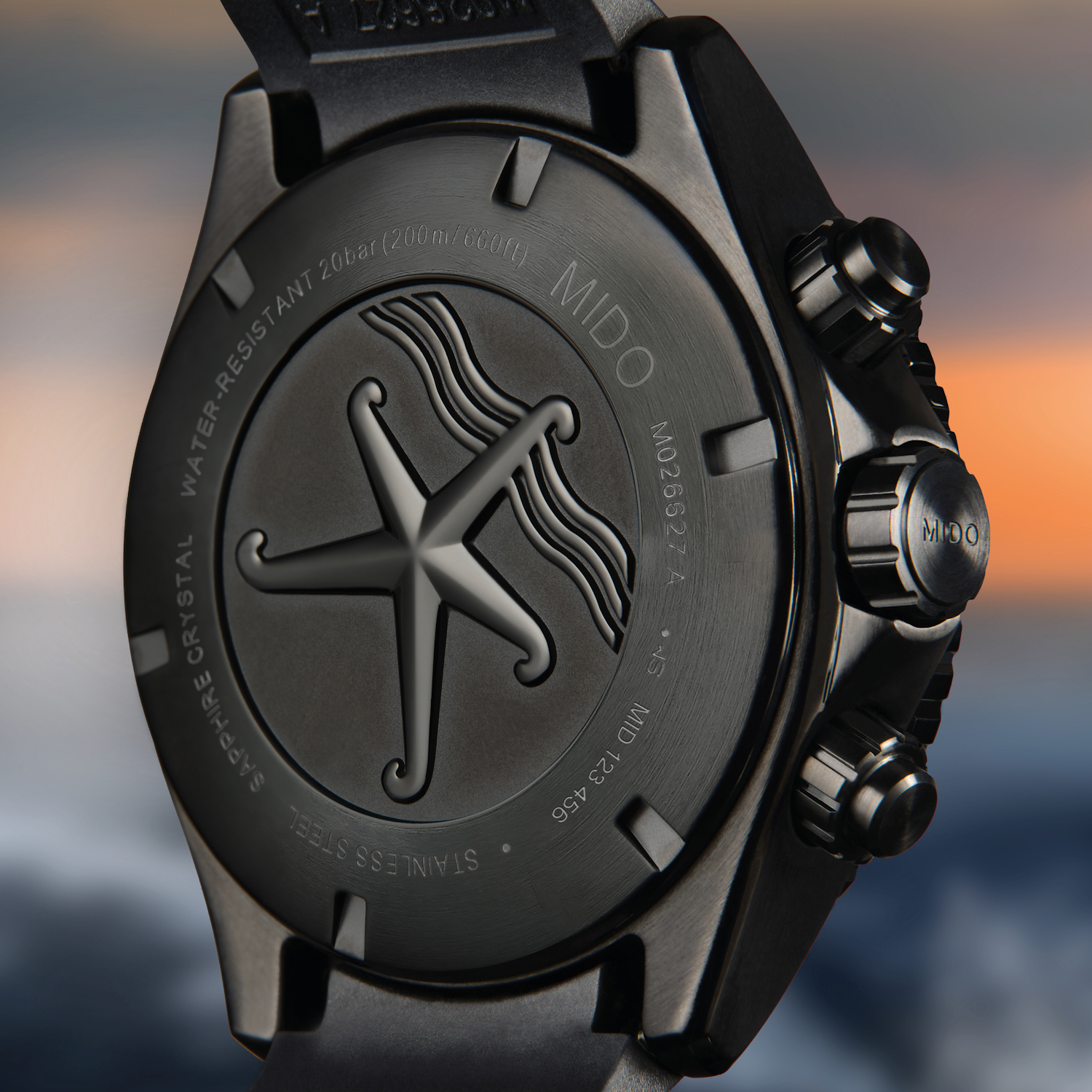 Mido Ocean Star Chronograph Special Edition timeandwatches.pl