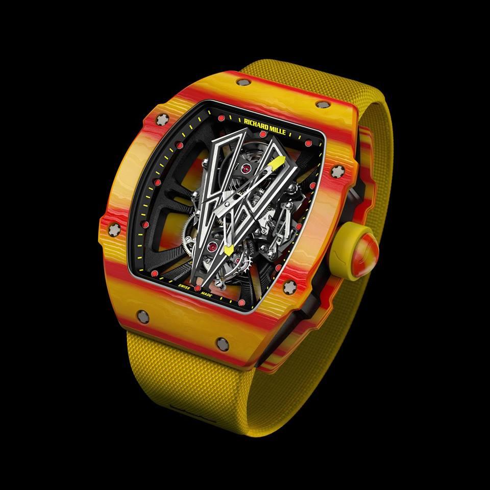 Timeandwatches Pl Richard Mille Rm 27 03 Tourbillon Rafael Nadal Testowany Mlotem
