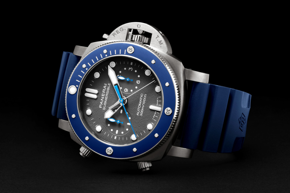 [Pre-SIHH 2019]: Officine Panerai Submersible Chrono Guillaume Néry