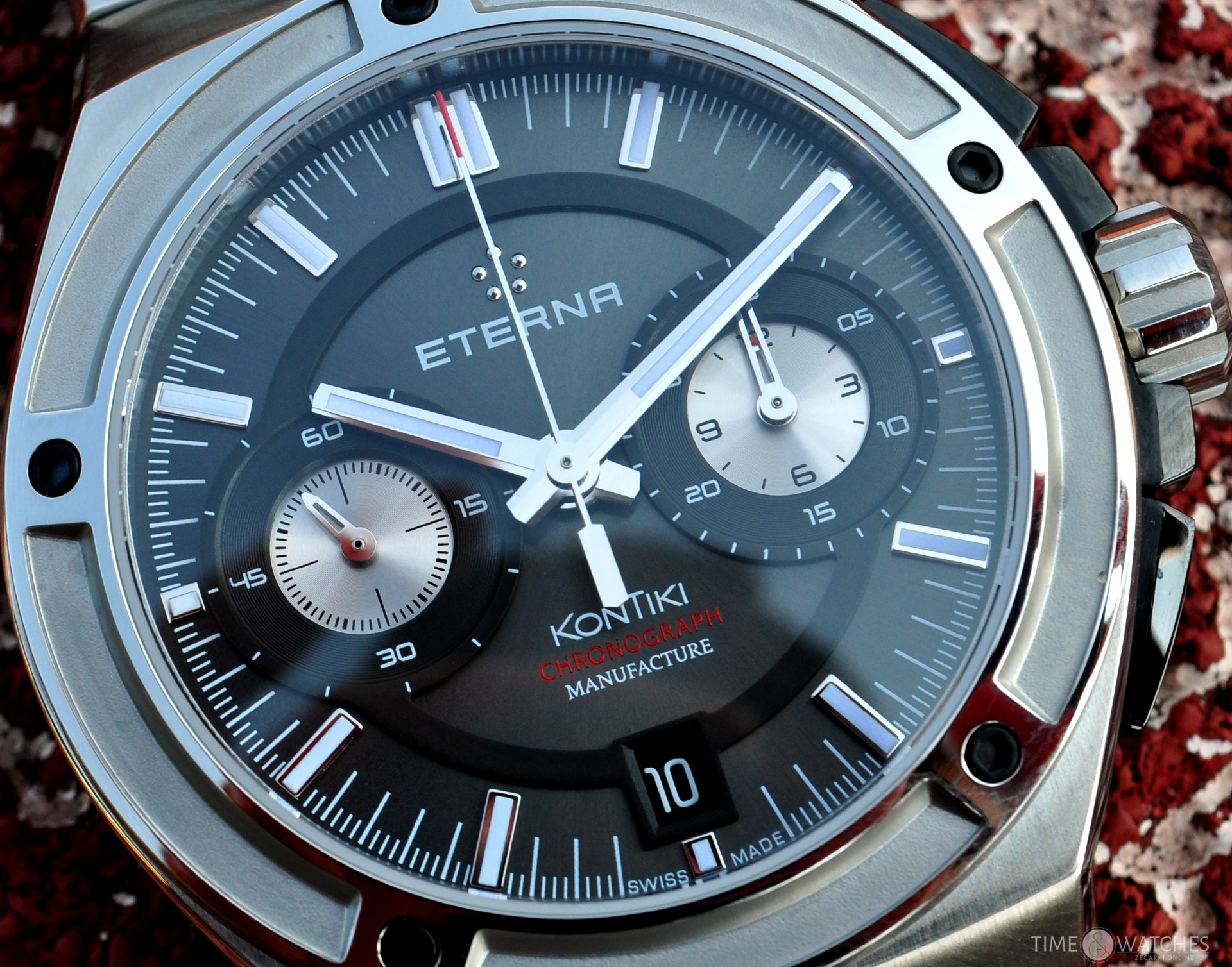 Eterna Royal Kontiki Chronograph | timeandwatches.pl