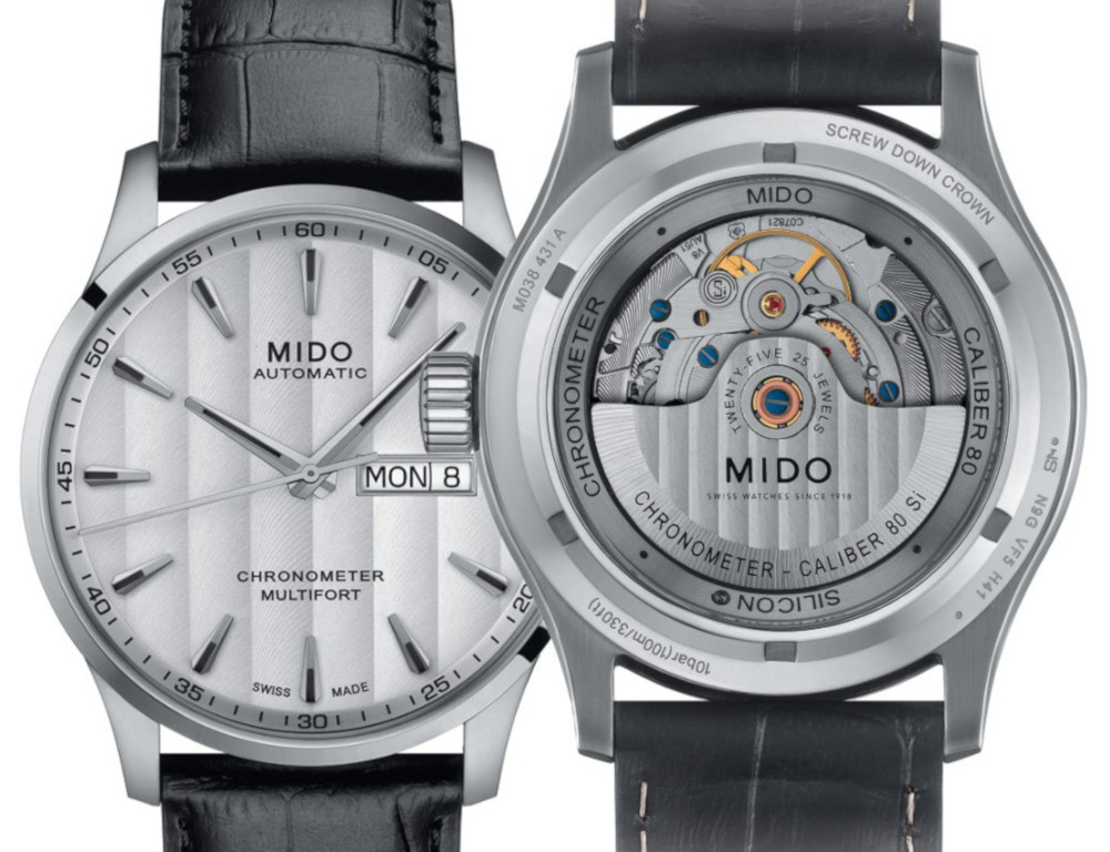 Mido Multifort Chronometer | www.timeandwatches.pl