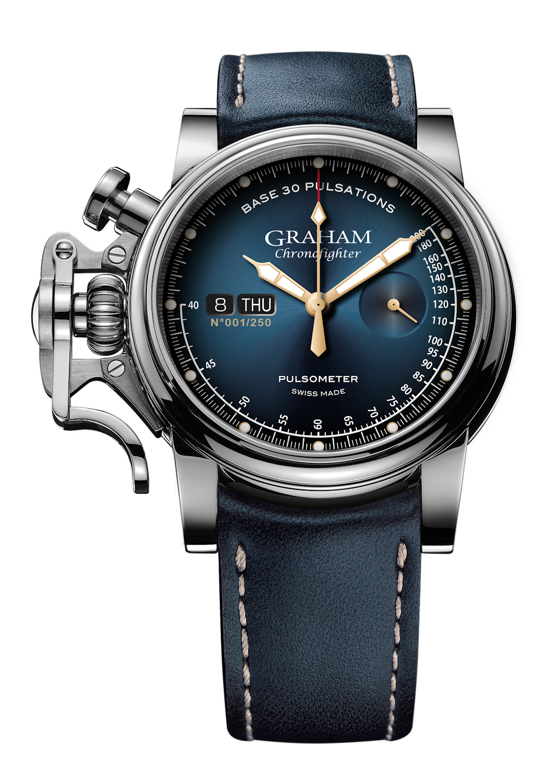 Graham chronofighter vintage pulsometer ltd