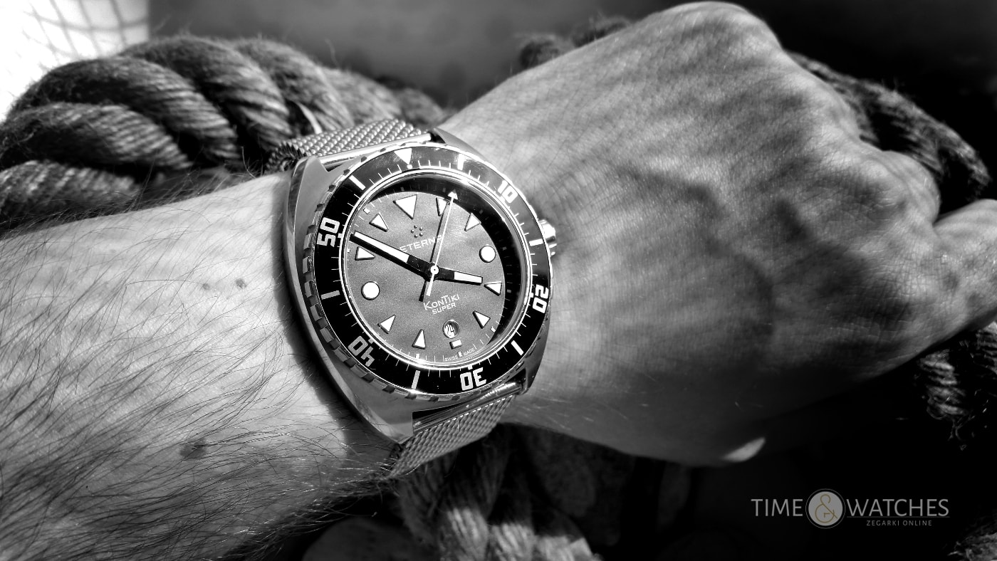 Test: Eterna Super Kontiki | Timeandwatches.pl