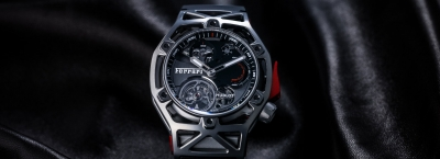 Hublot Techframe Ferrari 70 Years Tourbillon Chronograph - na 70 rocznicę Ferrari