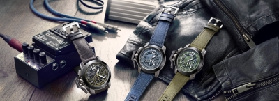 Graham Chronofighter Target Denim Collection