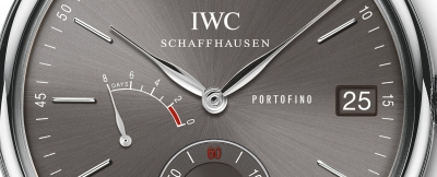 IWC Schaffhausen Portofino Hand-Wound Eight Days i Pilot's Watch Chronograph