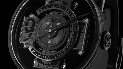 "MCT S200 Vantablack - ""czarna owca"" Only Watch 2017"