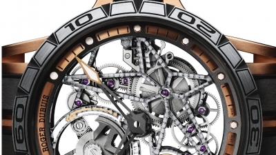 Roger Dubuis Excalibur Spider Skeleton na Pole Position