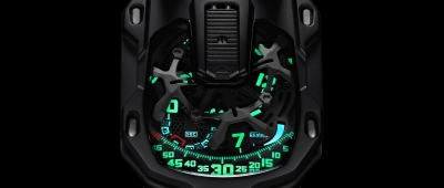 Urwerk UR-105 CT Kryptonite - zegarek rodem z kosmosu!