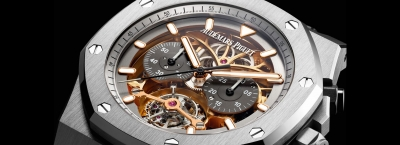 Audemars Piguet Royal Oak Tourbillon Chronograph Openworked Material Good